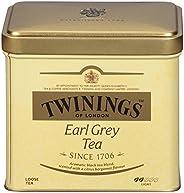 Twinings 川宁 of London 格雷伯爵茶 散装茶 罐装 7.05盎司(约199.86克)(6件装)