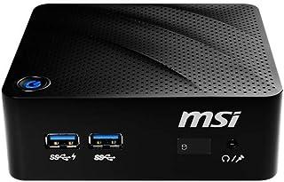 MSI 微星 Cubi N 8GL-002BEU Mini PC 准系统 ( 英特尔奔腾 银色 N5000 , 高达8GB 内存 , 1 x M.2 2280 PCIe/SATA 组合端口 , 无风扇 , WLAN 802.11ac , 蓝牙 ...