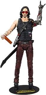 McFarlane Toys 麦克法兰 赛博朋克2077约翰尼·西尔弗汉德(Johnny Silverhand)人偶
