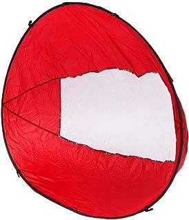 皮艇帆,便携式皮艇帆可折叠 108 x 108 厘米,带透明窗口,适用于皮划艇和充气船,4 种颜色
