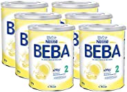 Nestlé 雀巢 BEBA 婴儿奶粉 2段(适用于6月以上婴儿),6罐装(6 x 800g)