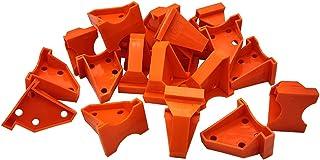 地板垫片,地板垫片,层压木地板工具 20 件,硬木地板带 1/4 和 1/2 间隙,兼容乙烯基板,硬木和浮地板安装