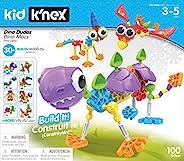 Kid K'NEX 85611 30 模型恐龙花公子积木套装,100 件儿童*玩具,适合儿童,有趣多彩的积木玩具,适合男孩和女孩,3 岁以上儿童