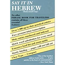 Say It in Hebrew (Modern) (Dover Language Guides Say It Series) (English Edition)