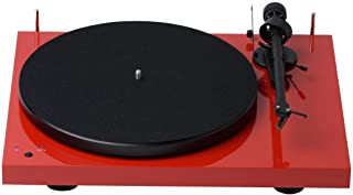 Pro-Ject Audiophile Turntable Piano)Debut RM (OM10) - Red