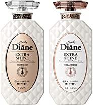 Moist Diane黛丝恩 Prefect Beauty Extra Shine 洗发水&护发素套装 フローラル 450ml×2 ボト