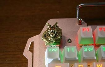 Mugen 定制龙珠动漫键帽适用于 Cherry MX 开关 - 适合大多数机械游戏键盘 - 带键帽拉拔器