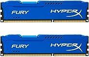 Kingston Technology HyperX Fury CL10 DIMM PC Memory 蓝色 16GB Kit (2x8GB