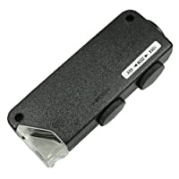 TSK 口袋显微镜 倍率60~100倍 带LED灯 KB-01
