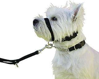 Kumfi Canine Stop 拉头项圈,黑色,S 码