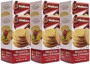 Walkers Shortbread 高地燕麥餅干,9.9盎司/280克(6盒裝),傳統燕麥餅干