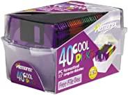 Memorex 3.5 英寸 PC 格式高*軟盤帶盒顏色,40 件裝(制造商已停產)