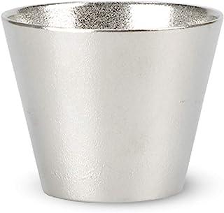 能作 锡猪口 日本制造 H5.9cm φ7.3cm 盒装 锡* 501302/酒器 酒杯 酒盅 酒杯 酒杯