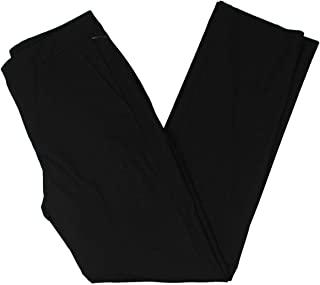 LAUREN RALPH LAUREN 拉夫·劳伦女式Quartilla 高腰正装裤黑色 2