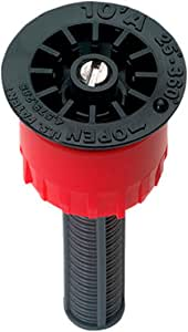 ORBIT 10' 半径可调节花纹女弹出式 sprinkler 喷嘴 红色