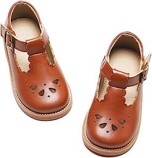 Felix & Flora 女童玛丽珍礼服鞋 – 芭蕾平底鞋蝴蝶结适合女孩派对学校鞋