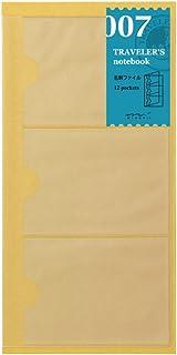 MIDORI TRAVELER'S Notebook 12层名片夹内芯 标准型 007