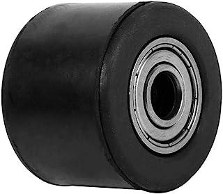 滑轮,0.3 英寸(约 0.8 厘米)链轮滑轮张紧器链条滚轮滑块张力器车轮导轨适用于坑土自行车摩托车
