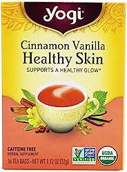 Yogi Tea Healthy Skin Cinnamon Vanilla Organic Tea, 6 Count