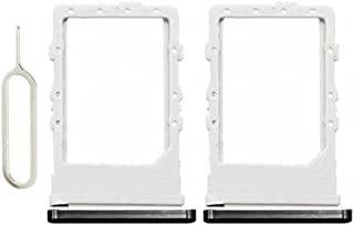SIM 卡托盘兼容 Galaxy Z Fold 2,2 件装 SIM 卡插槽插槽模块,适用于三星 Galaxy Z 折叠 2 5G 黑色 + 弹出销