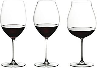 RIEDEL 礼铎 Veritas红葡萄酒品尝套装,三件,清透款