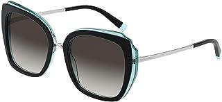 Tiffany TF4160 82853C 黑色/蓝色 TF4160 方形太阳镜镜头类别 3 种尺寸