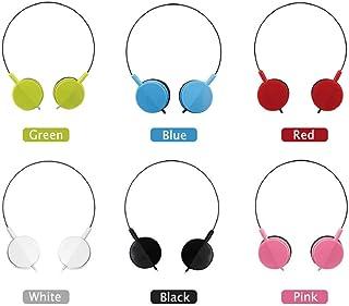 Bulk Over The Head 廉价一次性耳机批发小孩单独包装,适用于学校、图书馆、* 每包6条
