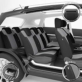 DBS 汽车座椅套 - 定制 - 高端抛光 - 快速安装 - 兼容*气囊 - Isofix - 左方向盘 - 1011724