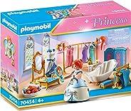 Playmobil 摩比世界 玩具公主更衣室带浴缸,适合4岁以上的儿童,70454