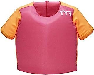 TYR 女孩 儿童 Flotation 衬衫 带自然吸引力,玫瑰,TU