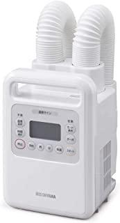 IRIS OHYAMA Kararie 被褥烘干机 高功率 双喷嘴 带温风功能 无需垫子 FK-WH1 白色