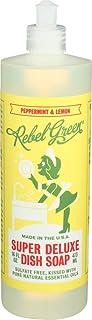 Rebel Green - 超级豪华碟式肥皂薄荷 & 柠檬 - 16 fl. 盎司