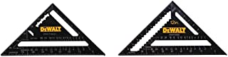 Dewalt DWHT03132 7 英寸(约 17.8 厘米) 12英寸(约30.5厘米)。 高级椽子方形组合包,黑色