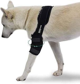Ortocanis 左右腿肘部护具 4 种尺寸 黑色 适用于骨*、韧带*、*和 ED(XL - 右)