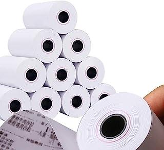 MBLABEL 热收据纸卷,6.64 厘米 x 40.64 厘米热纸,POS 收银机纸卷(50 卷)