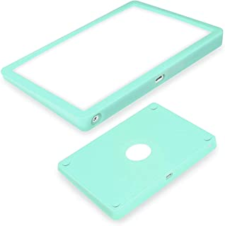 超薄硅胶保护套适用于 Apple Magic Trackpad 2 无线触摸板保护套,防尘防刮耐磨携带硅胶皮袋(薄荷色)