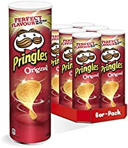 Pringles 原味薯片,6罐聚会装(6 x 200g)
