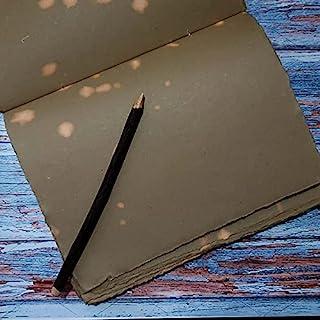 E-Tailor 手工甲板边缘日记美学/复古外观圆点在某些页面的礼物目的圣诞节新年男女 150Gsm-144 页(8x10 英寸)