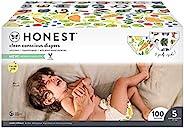 The Honest Company 俱乐部礼盒-Clean Consciou 尿布,Wingin'It +彩绘羽毛,尺寸:5,100计数(包装可能有