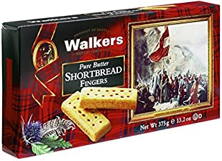 Walkers Shortbread Pure Butter Fingers, 13.2 Ounce Box, Traditional & Simple Pure Butter Shortbread Cookies from the Scott...