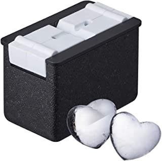 DOSHISHA 制冰器 透明冰 心形 2个 DCI-20HT