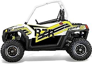 Trail Armor Slimline 双门图形套件 Le White Lightning 适合:2014 RZRS 800