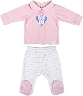 CERDÁ LIFE'S LITTLE MOMENTS 女婴 220006137_T01M-C70 米妮打底裤 - Disney 官方*,Rosa,1 个月
