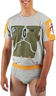 星球大战 BOBA FETT 男士 T 恤和内衣套装