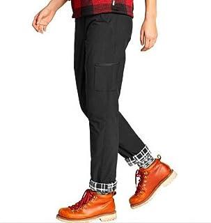 Eddie Bauer 女式北极衬裤黑色尺码 12