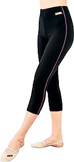 夏季夏季骑行服 新体操 女士 热服 7分裤 HW1297L 黑色
