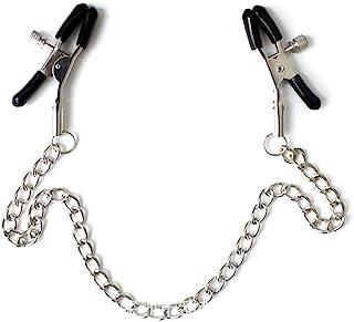 KISSHAKE 身体链带可调节夹子,非穿孔身体首饰,女士男士项链娱乐链夹服装配饰装饰