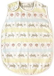 Hoppetta rapin rapin 6层纱布睡袋 [対象] 0ヶ月 ~ 36ヶ月 多色 ベビー