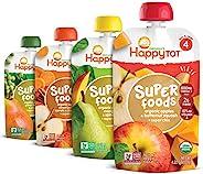Happy Tot Organics Super Foods 4段,混装,每小袋 4.22 盎司(120g),16件装,包装可能有所不同