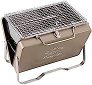 CAPTAIN STAG 鹿牌 Monte 烧烤炉 烤架 V型 桌上型烤架 卡其色 UG-66